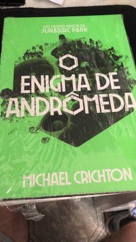 Livro O Enigma de Andromeda