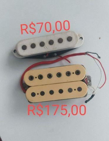 Escudos e captadores de guitarra - Foto 3