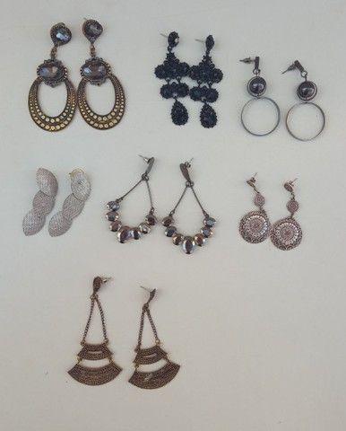 Lote de brincos bijoux