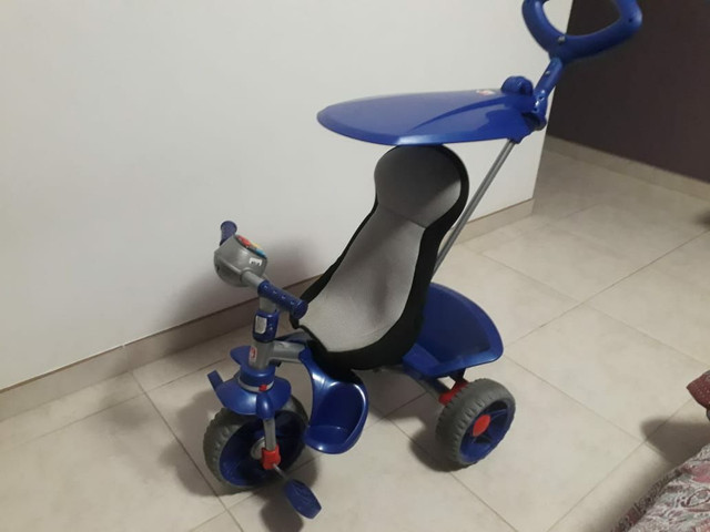 Triciclo smart confort bandeirande azul - Foto 5