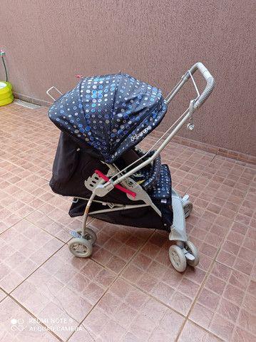 Kit bebê com carrinho, bebê conforto e tapete de atividades - Foto 3