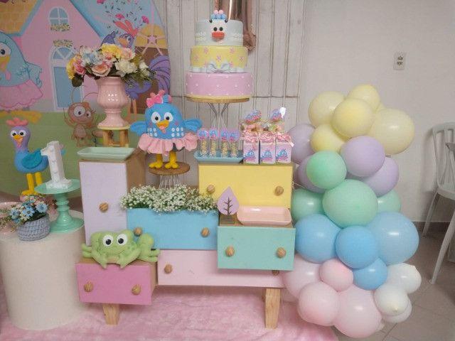 Decoração Galinha Pintadinha Candy - Foto 4