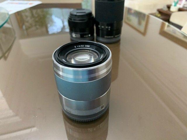 Lente E 50mm F/1.8 OSS Sony Prata  - Foto 2
