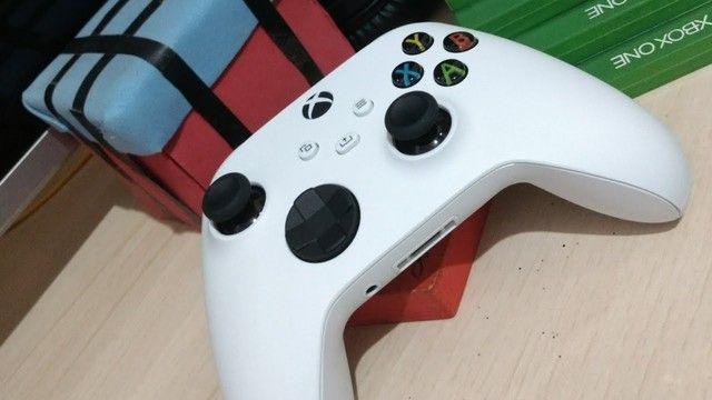 Controle Sem Fio Xbox Series Robot White - Novo, Original e Lacrado - Foto 2