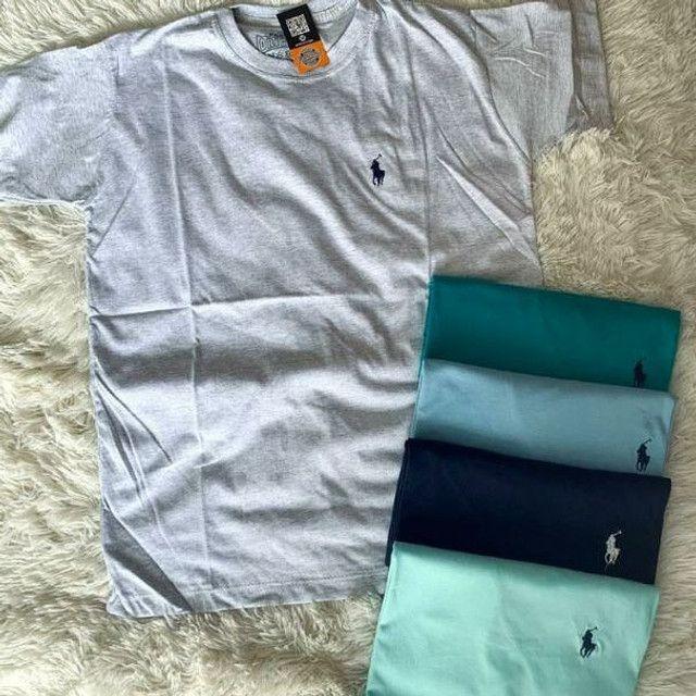 5 camisas no atacado - Foto 6