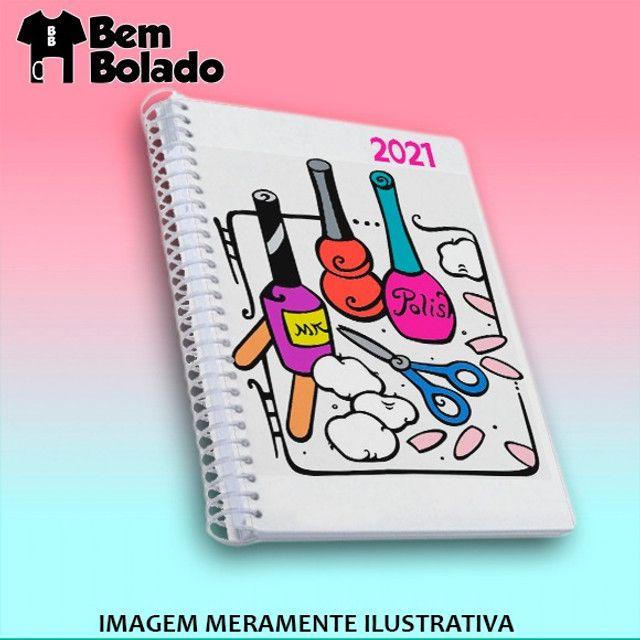 Agenda 2021 Manicure Cabeleireira Salão de Beleza - Foto 3
