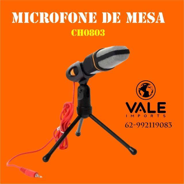 Microfone Condensador para Palestras e Computador - Foto 2