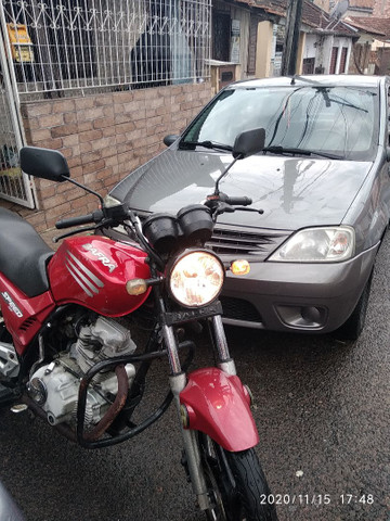 Troco os dois por outro carro , Moto 150cc 2010