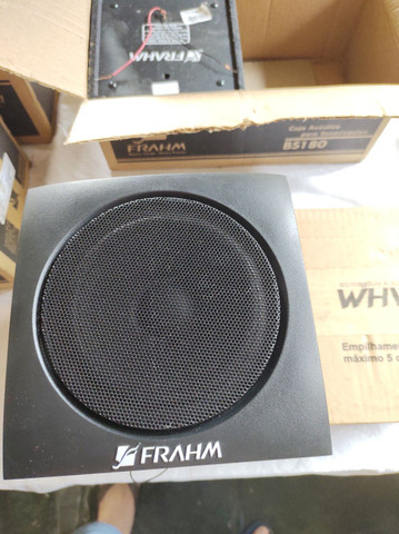 """Caixas acústicas 5"""" Full range 10W RMS Frahm - Foto 2"""