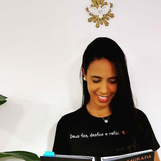 Camisas com Fraes biblias   - Foto 3