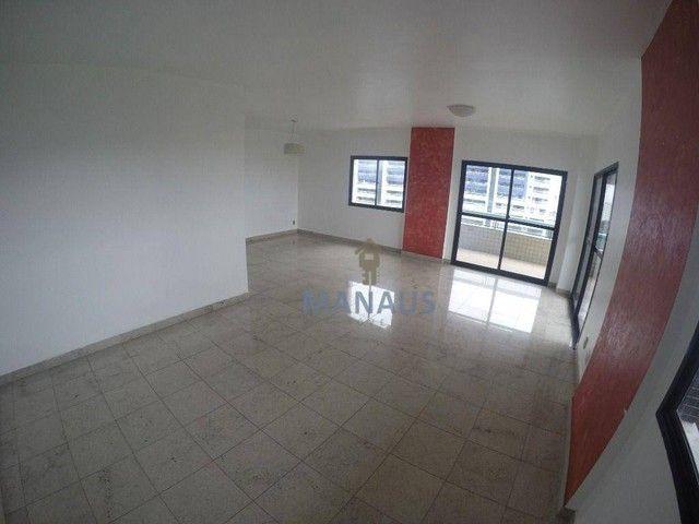 Apartamento com 4 dormitórios para alugar, 186 m² por R$ 3.900/mês - Adrianópolis - Manaus - Foto 2