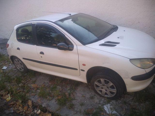 Peugeot 206 1.4 1999/2000 vendo peças sucata