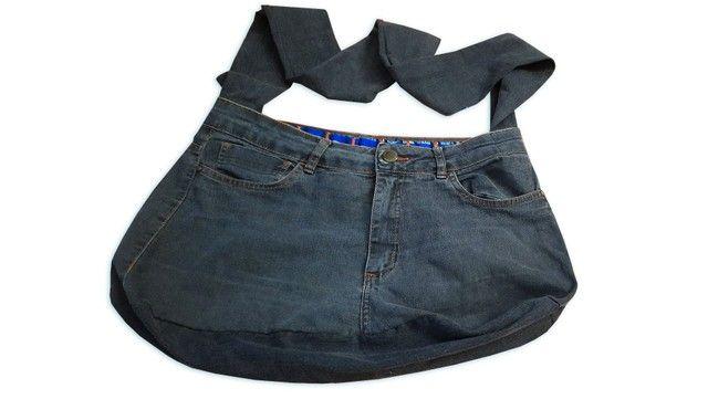 Bolsa Jeans Artesanal
