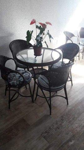Conjunto de mesa argentina em fibra sintética  - Foto 2