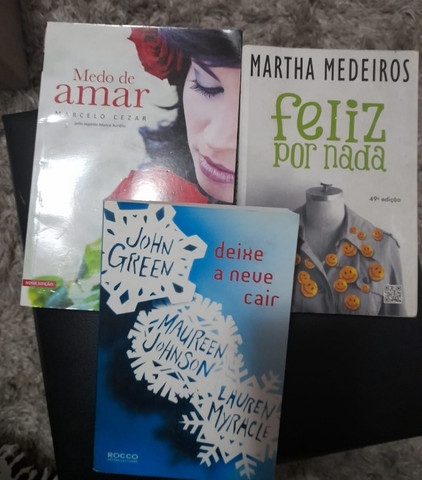 Kit 3 Livros Escolha O De Sua Preferência Uma Boa Leitura - Foto 3