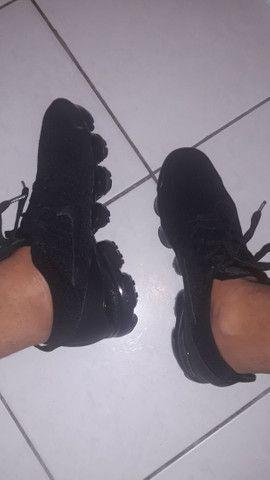 Tênis Nike Air Vapormax 3.0 Triple Black (Preto, 40)  - Foto 3