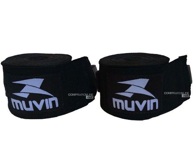 Bandagens Faixa De Mão Atadura Elastica Muay Thai Boxe Promoção Somos Loja - Foto 3