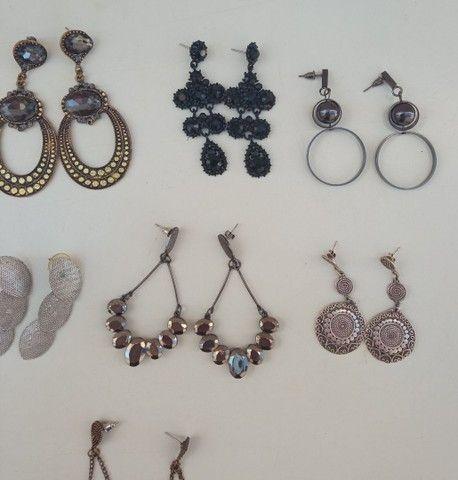 Lote de brincos bijoux - Foto 3