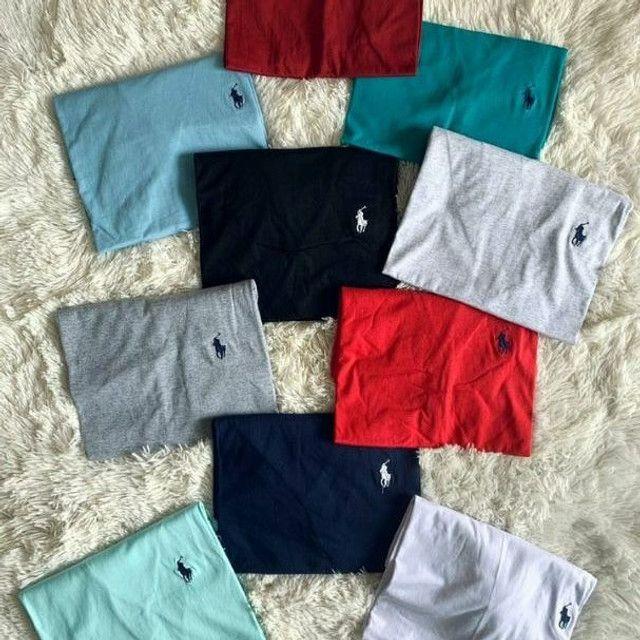5 camisas no atacado - Foto 4