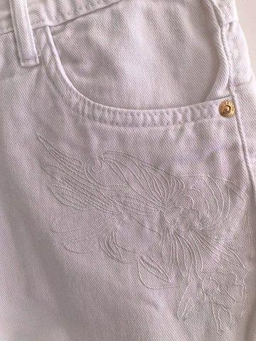 Short jeans branco - Foto 5