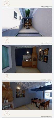Vendo casa linear com 2 quartos sendo 1 suíte , area gourmet e garagem - Chácara Mariléa - Foto 6