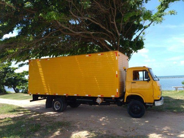 Vende-se caminhão baú Fiat 80 - Foto 6