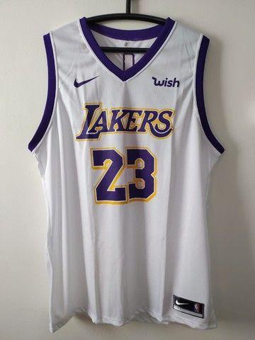 Regata NBA Lakers Branca