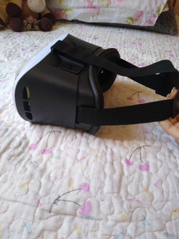 Óculos VR Box Realidade Virtual 3D Android IOS Controle Bluetooth - Foto 2