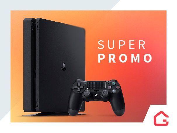 Lançamento Ps4 PlayStation 4 Slim 500Gb Entrega Porto Alegre - Grande POA e Região