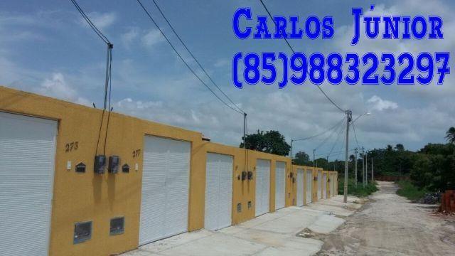 Casas Planas bem localizadas em Pindoretama, Apenas 100.000 Doc.Grátis Fino Acabamento