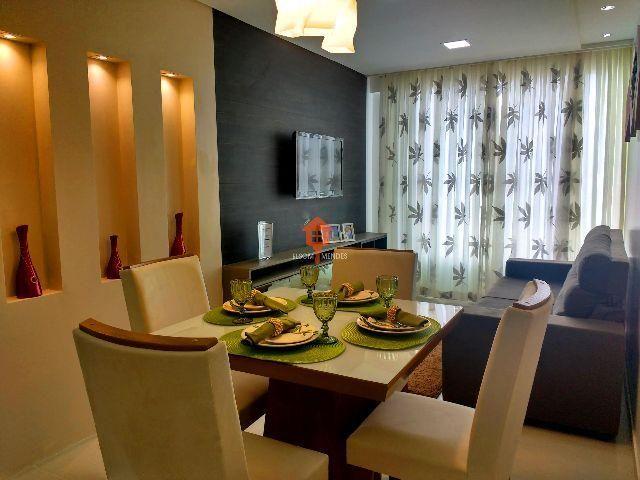 Bougainville Center - Apartamento Jardim Tavares/Alto Branco com área de lazer completa