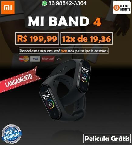 Xiaomi Mi Band 4 + Película - Até 12x No Cartão
