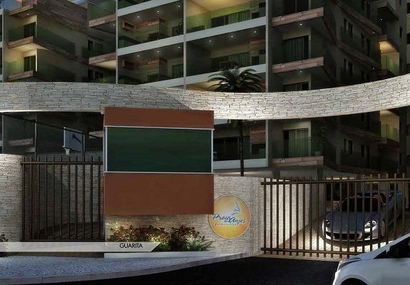Frente ao mar espetacular 02 e 03 quartos com 03 suites e Coberturas Praia dos Anjos - Foto 6
