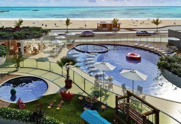 Frente ao mar espetacular 02 e 03 quartos com 03 suites e Coberturas Praia dos Anjos - Foto 8