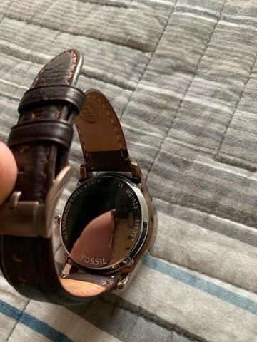 9acef166b54 Relógio Fóssil Masculino Pulseira de Couro Marrom - Bijouterias ...