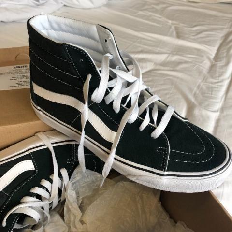 Tênis Vans SK8-HI - Cano Alto - Verde - Novo - Roupas e calçados ... 9d83e64ce3d76