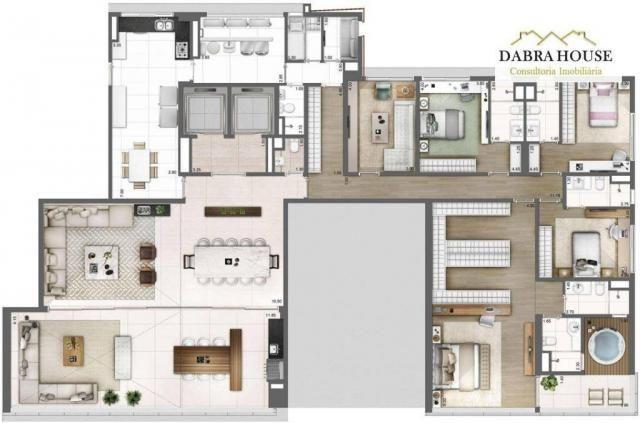 Apartamento à venda com 4 dormitórios em Vila olímpia, São paulo cod:AP0875 - Foto 4