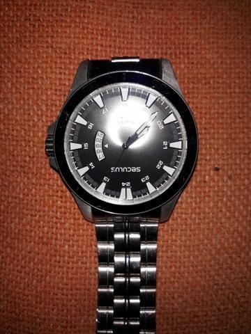 c204c24bd59 Relógio Seculus Long Life - Bijouterias