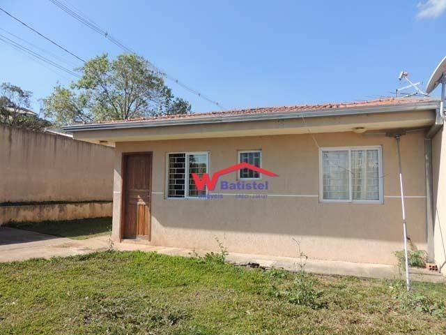 Casa com 3 dormitórios à venda, 53 m² - rua jacarezinho nº 573jardim guilhermina - colombo