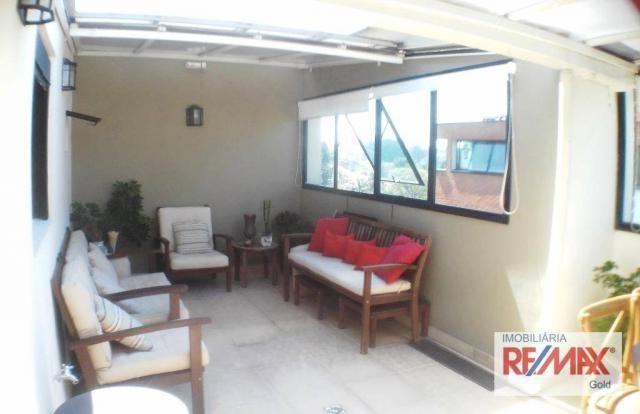 Cobertura 3 dormitórios,2 suítes,churrasqueira,home theater ,rua passo da patria - Foto 8