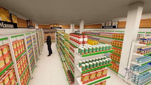 Projeto 3D e Montagem completa de supermercados, realize seu sonho! - Foto 3