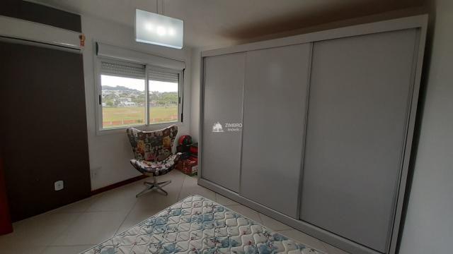 Apartamento para alugar 03 dormitórios em Santa Maria Semi-mobiliado com Sacada com churra - Foto 4