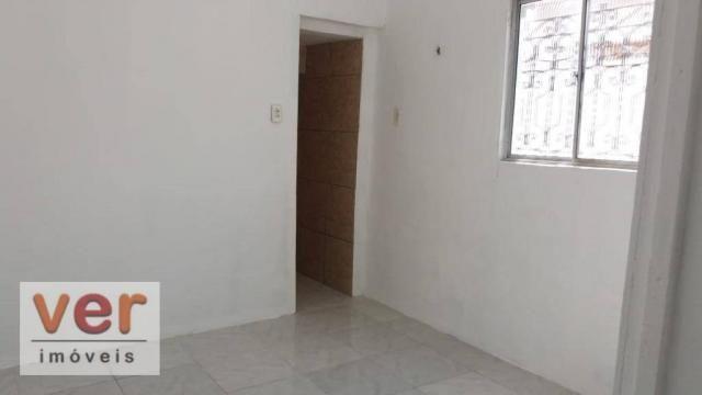 Apartamento com 1 dormitório para alugar, 50 m² por R$ 450,00/mês - Benfica - Fortaleza/CE - Foto 6