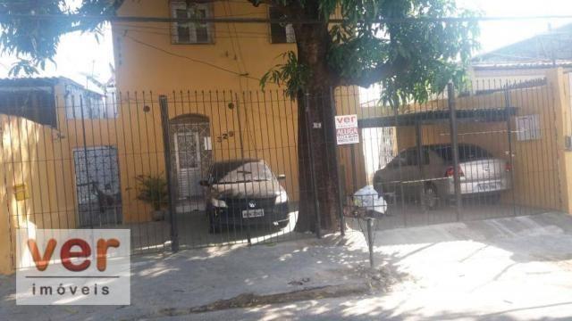Apartamento com 1 dormitório para alugar, 50 m² por R$ 450,00/mês - Benfica - Fortaleza/CE