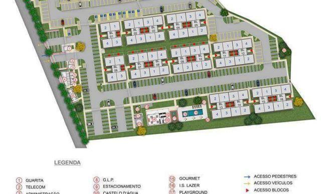 Chapada das Safiras - Apartamento 2 quartos em Cuiabá, MT - 39m² - ID4020 - Foto 9