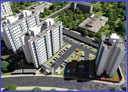 Apartamento com 2 dormitórios à venda, 45 m² por R$ 122.590,00 - Shopping Park - Uberlândi