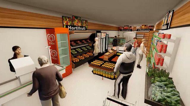 Projeto 3D e Montagem completa de supermercados, realize seu sonho! - Foto 2