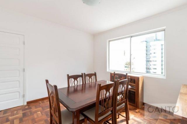 Apartamento com 3 dormitórios para alugar no Batel - condomínio com valor baixo, 96 m² por - Foto 5
