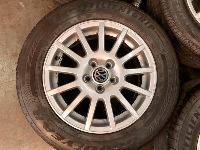 Jogo de rodas aro 15 VW 5x100 - Foto 5