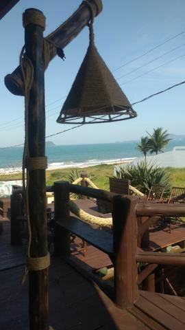 Casa na praia de piçarras com piscina,sinuca, karaokê, wi-fi e vista para o mar - Foto 3